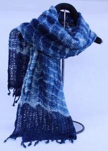 藍染ストール2