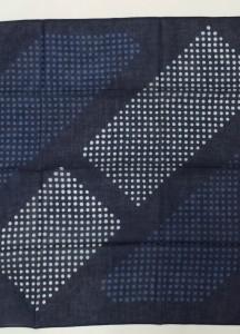 藍染バンダナ5