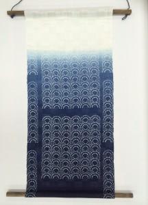 藍染タペストリー2