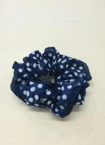 藍染シュシュ1 (売り切れ)