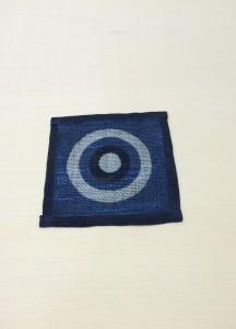 藍染コースター2