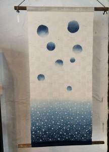 藍染タペストリー8 (売り切れ)