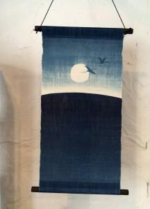 藍染タペストリー11