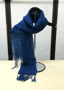 藍染ストール6